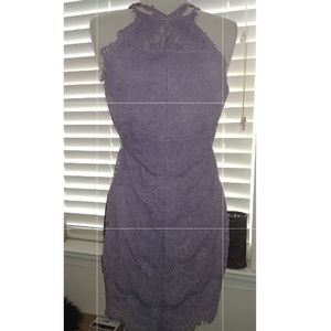 Free People Lilac Lace Dress.